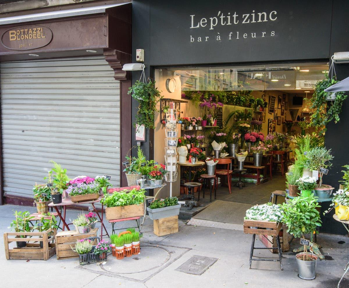 Blumenladen in Paris
