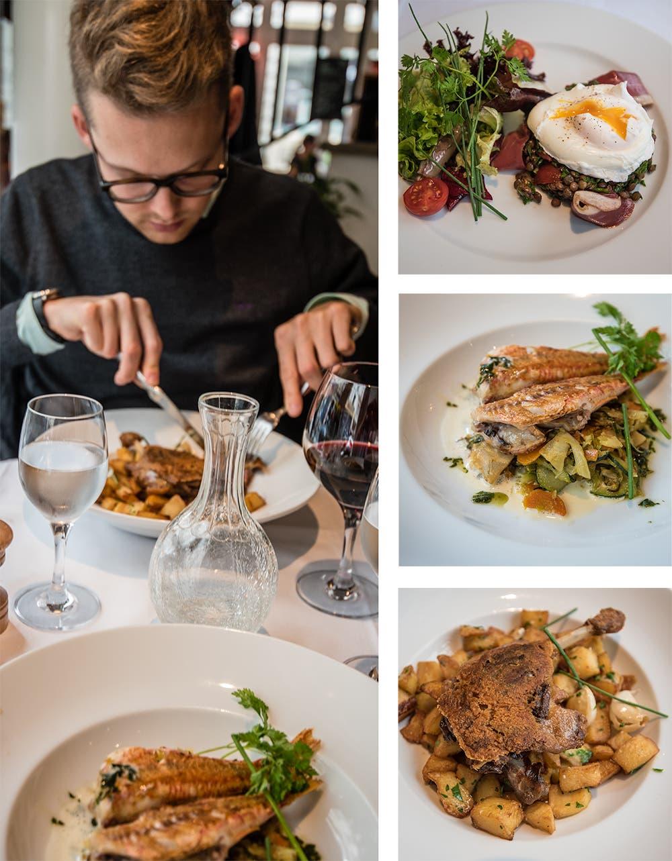 Mittagessen in Paris