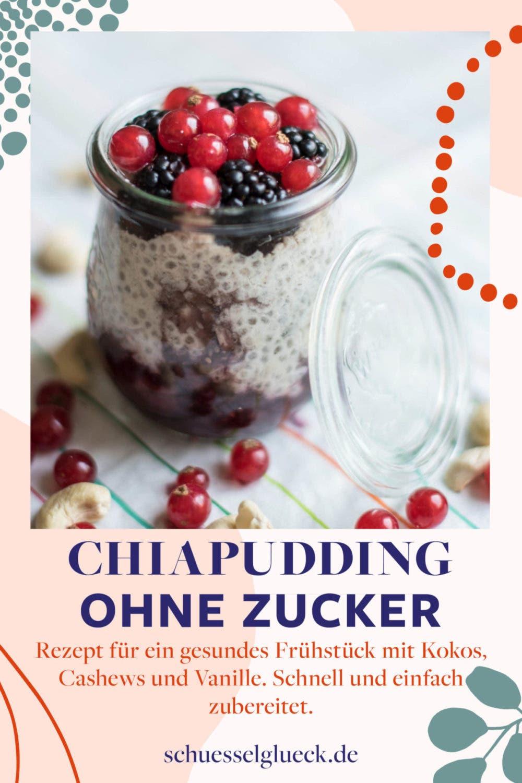 Kokos-Vanille-Chiapudding – Karibikgefühle für den Frühstückstisch!