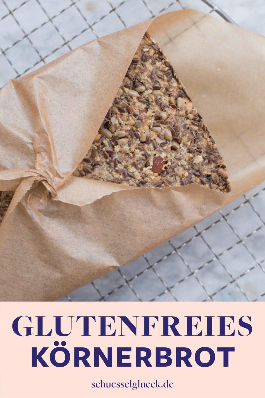 Glutenfreies Körnerbrot – ohne Küchenmaschine selber backen!