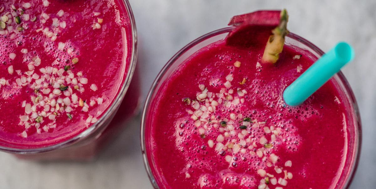 Rote Bete Power Smoothie4