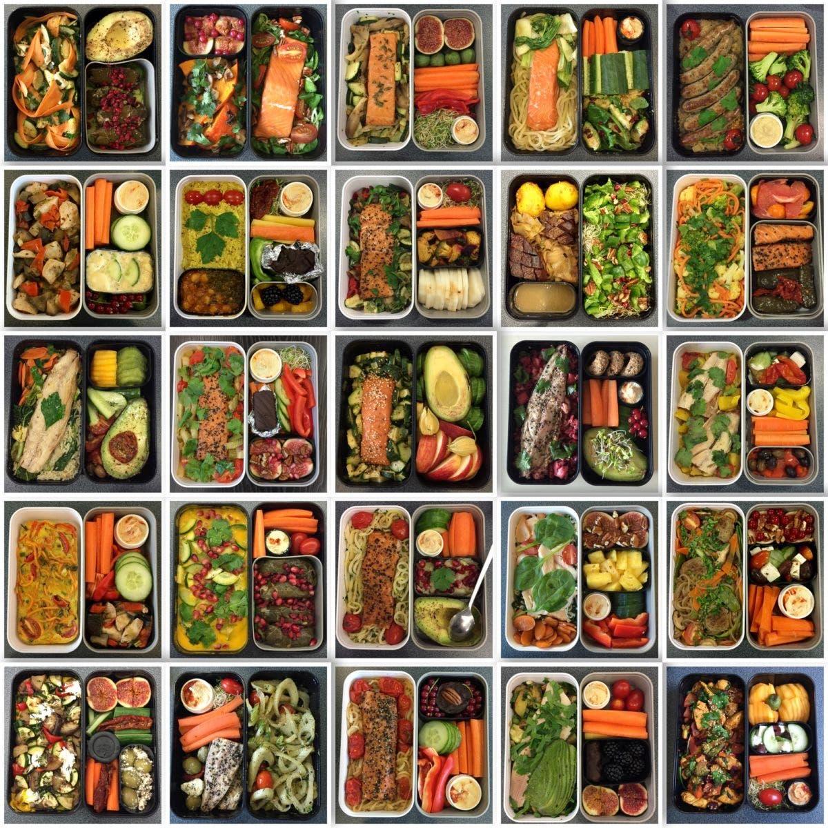 Lunchbox Collage: 25 Box Lunch-Glück zum mitnehmen | Die besten Tipps für leckere, gesunde Lunchboxen
