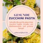 Pasta mit Jakobsmuscheln und grünem Spargel