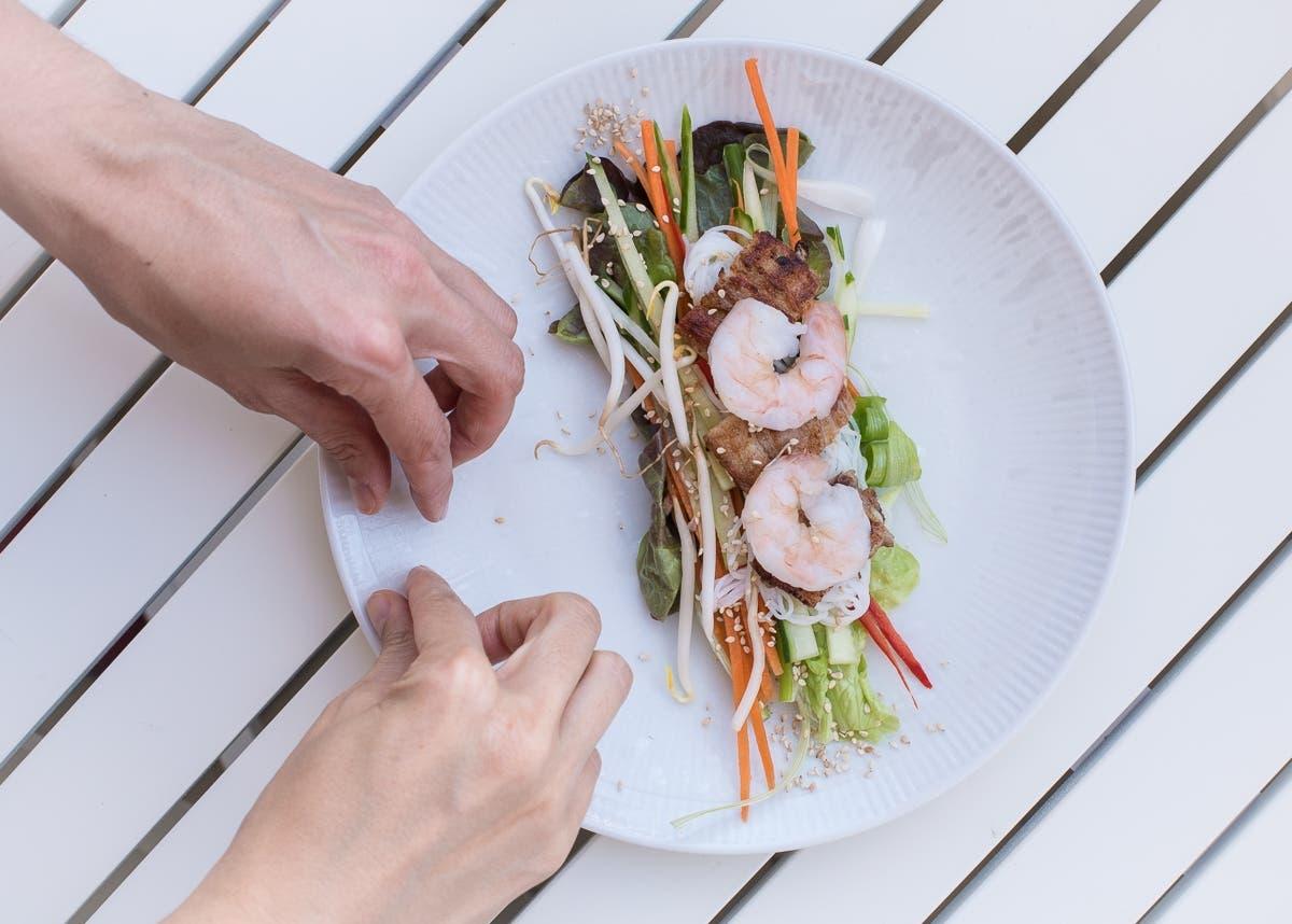 Leichte Sommer Rezepe: Vietnamesische Sommerrollen