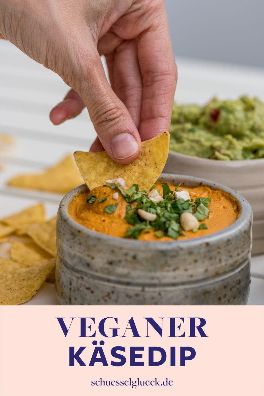 Veganer Käsedip – perfekt zu Nachos und Co.