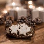 Saftige, gesunde Zimtsterne wie vom Weihnachtsmarkt