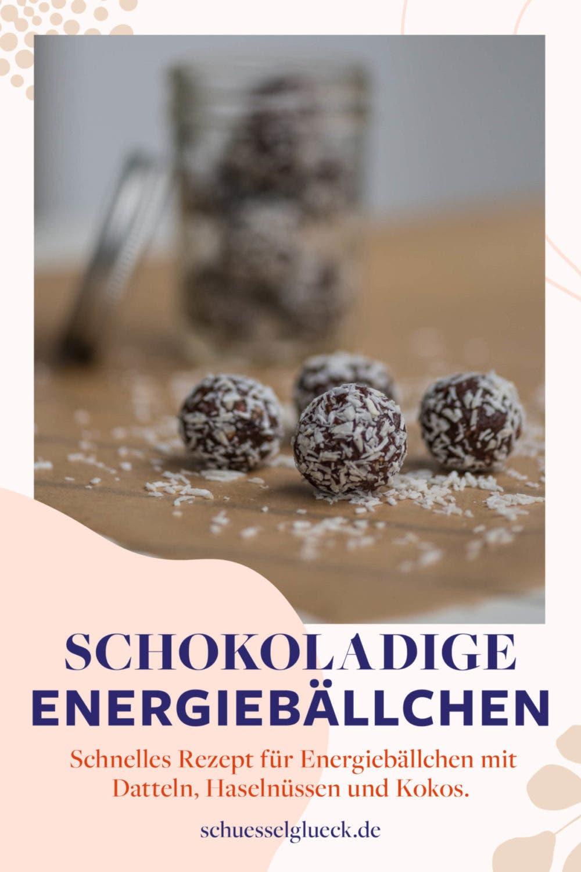 Schokoladige Energiebällchen mit Suchtfaktor – Schnell gemacht, gesund und lecker!