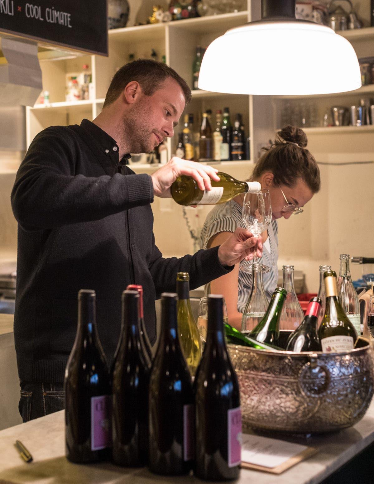 Der Frühling zu Gast im Club Michel (feat. Chairs und Cool Climate): Natural Wine
