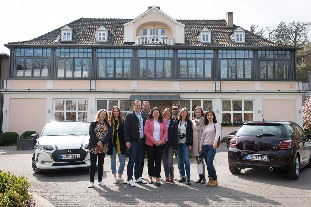 Bollants im Park // Mit Jeunes Restaurateurs durch Deutschlands kulinarischen Westen #JREBLOGGERREISE