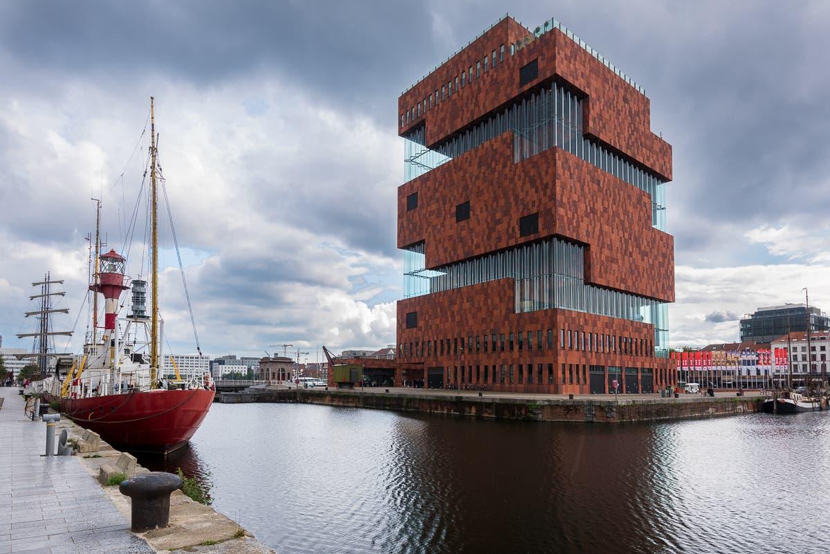 Aufnahme von Architektur von Museum aan de Stroom Antwerpen
