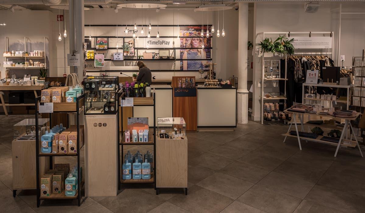 belgischer Konzept Store von innen in Antwerpen
