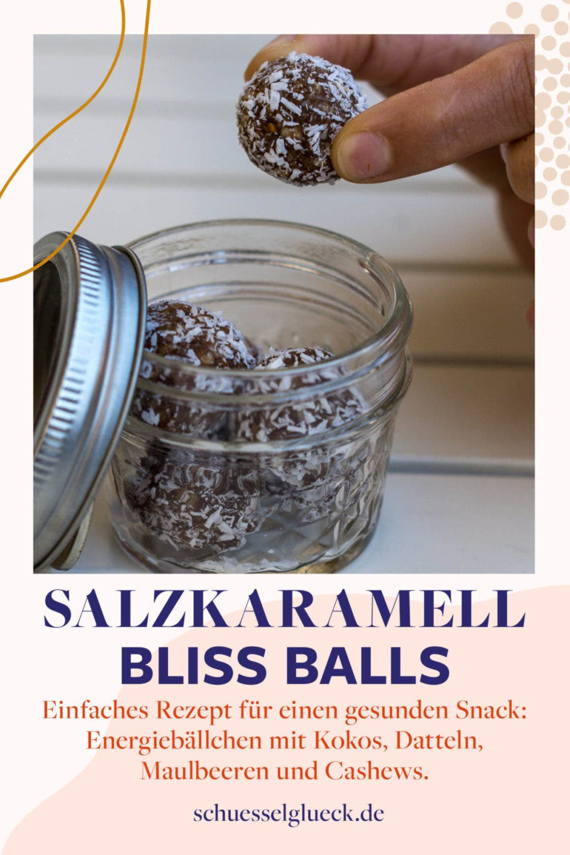 Salzkaramell Bliss Balls mit Kokos – Energiebällchen zum verlieben!