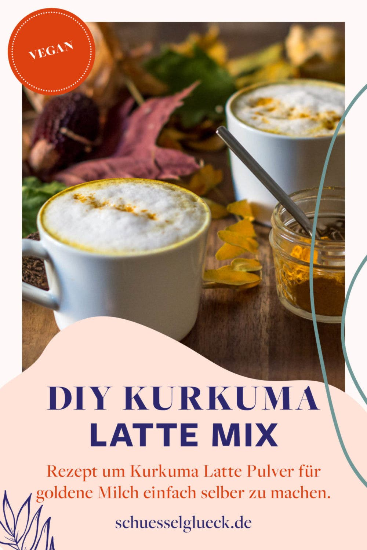 DIY Kurkuma Latte Mix – Goldene Milch im Handumdrehen zaubern