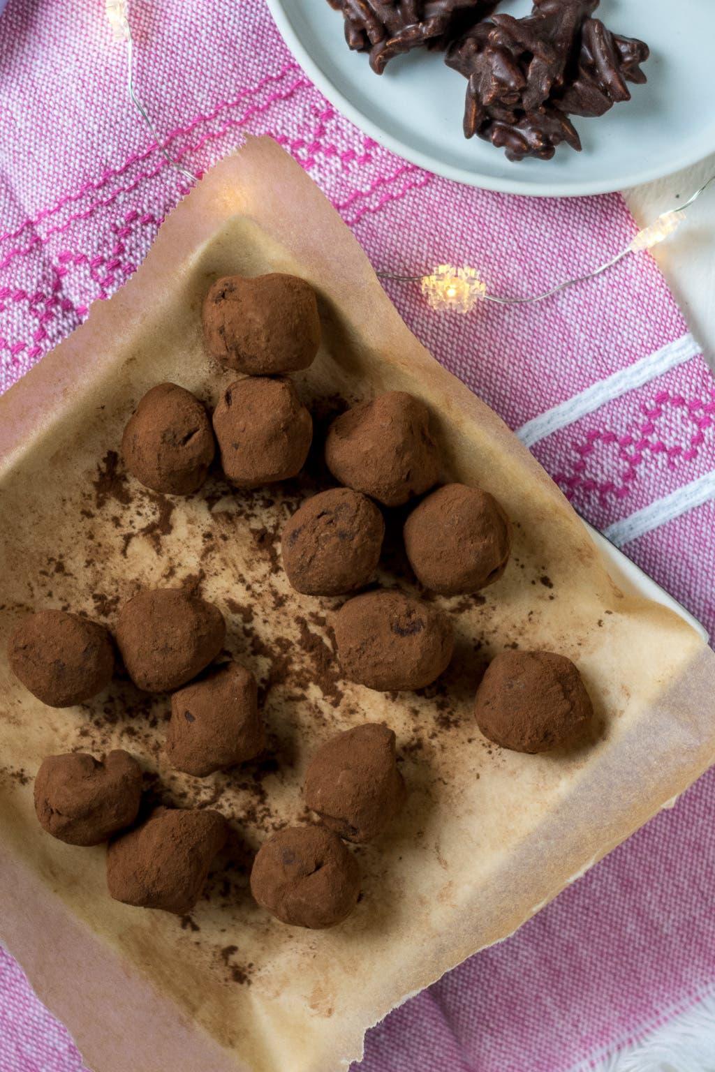 Die drei besten Last Minute Geschenkideen aus Schokolade: Belgische Trüffel mit Muscodavo Zucker