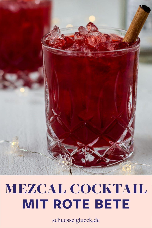 Rote Bete Mezcalita mit Zimt: Mein Feiertags-Cocktail 2018 und ein kurzer Jahresrückblick.