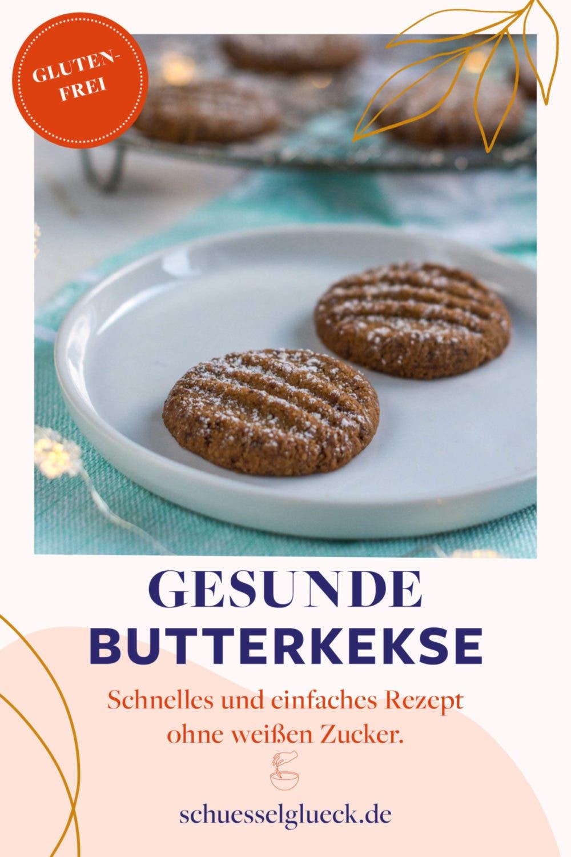 Einfache, gesunde Butterkekse mit Kokosblütenzucker– Upgrade für Deine Kaffeepause!