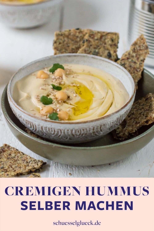 Wie du perfekten Hummus in fünf Minuten selber machst