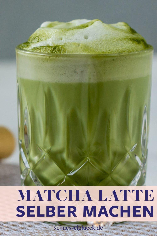 Matcha, Baby! Was Gutes drin steckt und wie du ganz einfach perfekten Matcha Latte zubereitest.