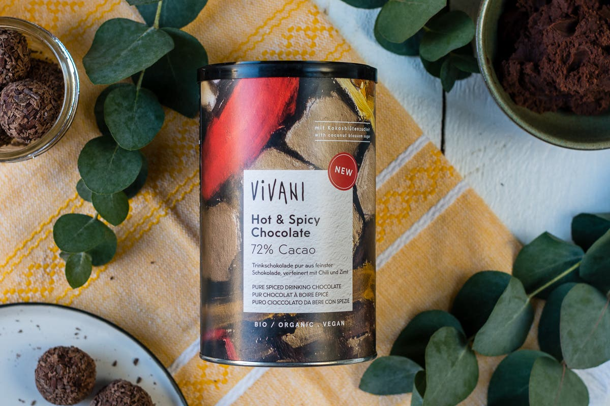 Vivani Hot Spice Chocolate Gewürz