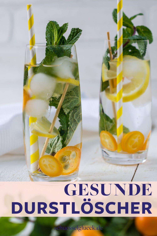 Gesunde Durstlöscher: 7 erfrischende Getränkeideen ohne Zucker für heiße Sommertage