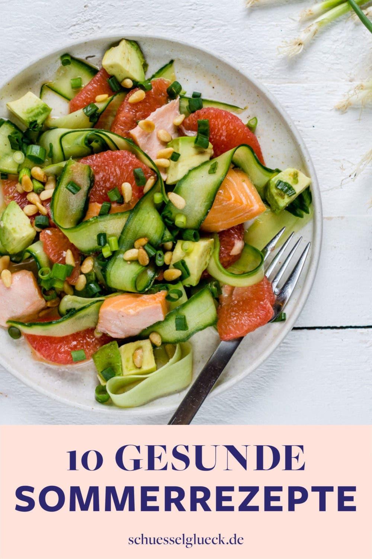 10 leichte Sommergerichte ohne kochen – blitzschnell gesund genießen!
