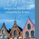 Bunte Fassaden von Häusern in Brügge
