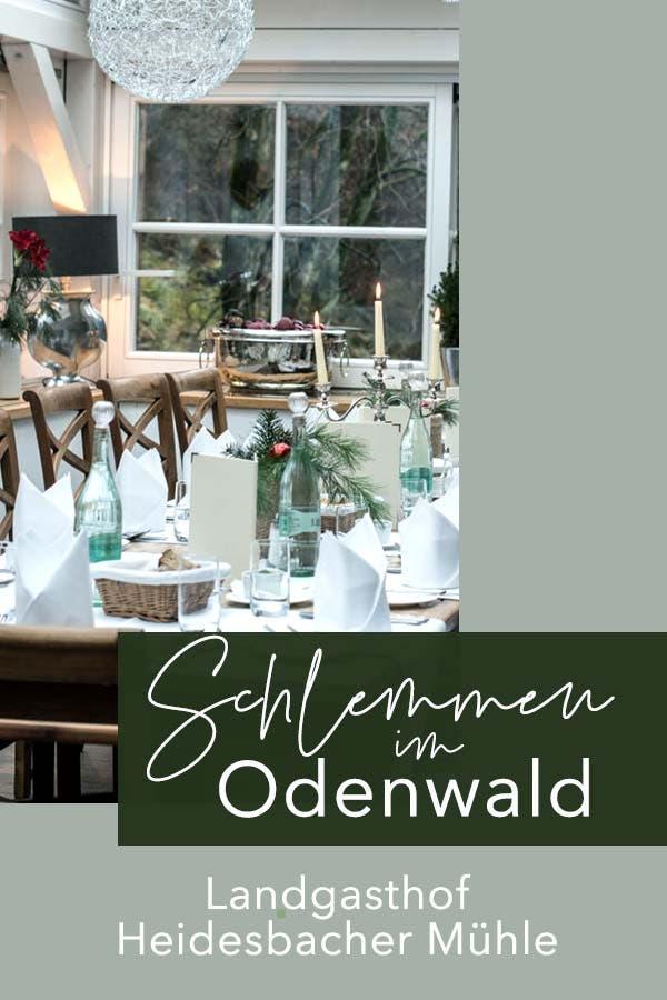 Landgasthof Heidersbacher Mühle - Schlemmen im Odenwald zur Vorweihnachtszeit