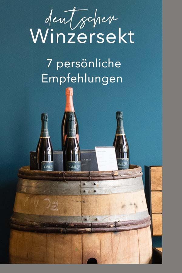 Du möchtest Winzersekt aus Deutschland probieren? Hier findest Du meine 7 Empfehlungen für wirklich guten und preiswerten Winzersekt. Perfekt für die Feiertage! #winzersekt #deutschland #sekt #Feiertage