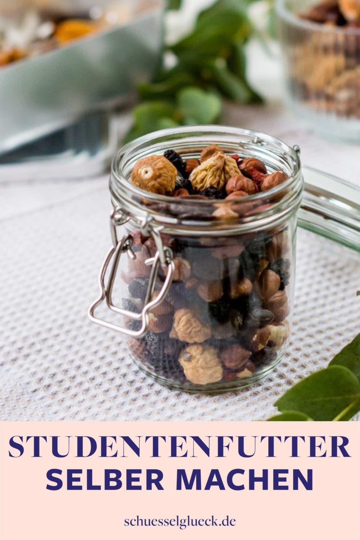 Die drei besten Rezepte für selbst gemachtes Studentenfutter (+ Tipps zum verpacken)