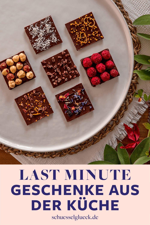 Die 7 besten Last Minute Geschenkideen aus der Küche – superschnell & einfach gemacht!