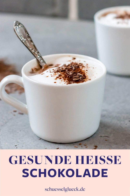 Gesunde heiße Schokolade selber machen