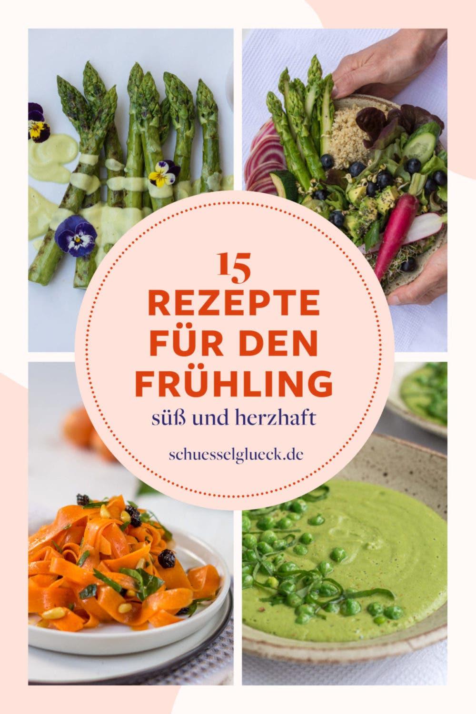 Fit für den Frühling: 15 vegetarische & vegane Rezepte zum Verlieben!