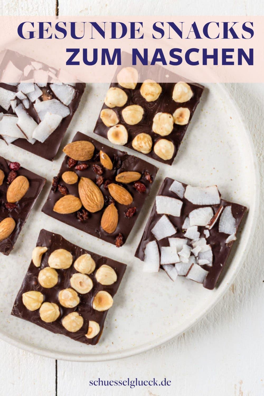 Gesunde Snacks selber machen: 10 süße Naschereien perfekt zum Verschenken