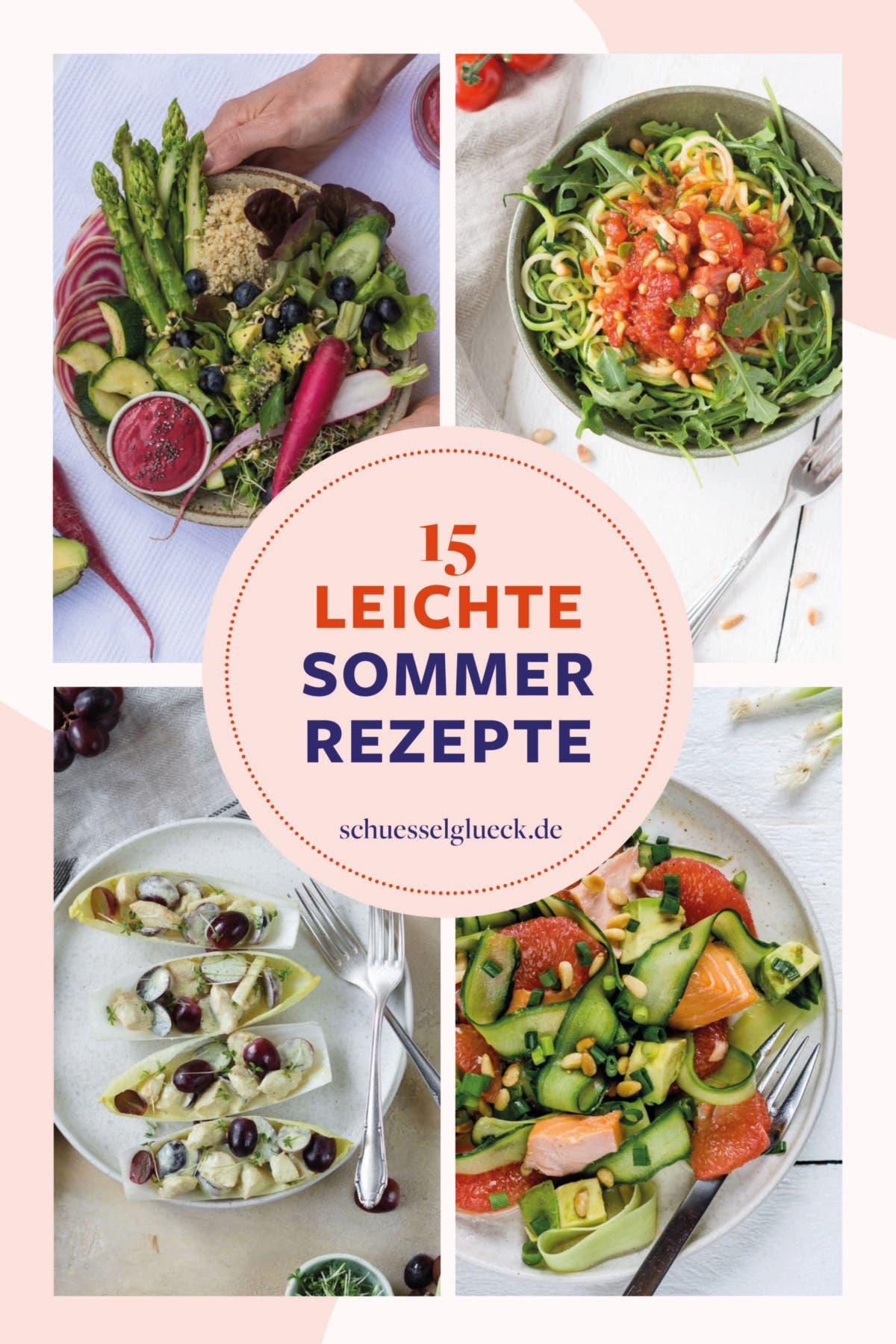 15 leichte Sommerrezepte und meine Tipps für besonders heiße Tage