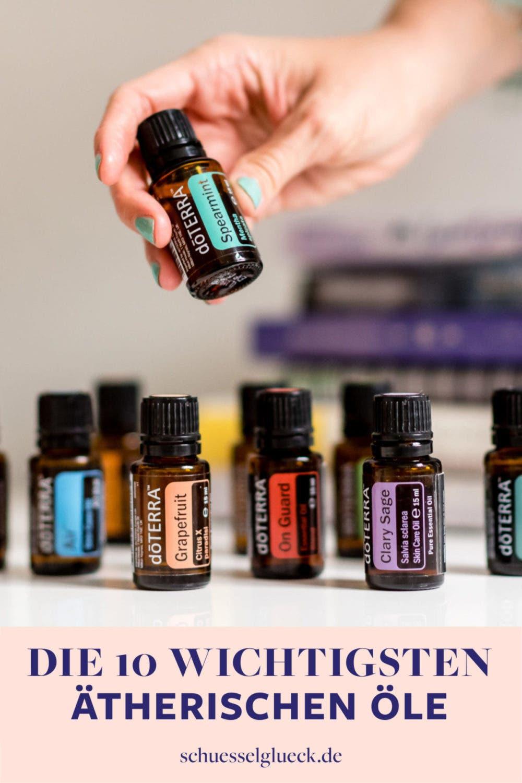 Die 10 wichtigsten ätherischen Öle und Ölmischungen für dein Zuhause