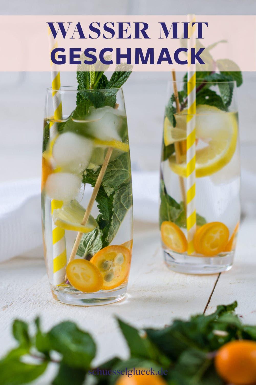 Infused Water: 8 erfrischende Ideen, um Wasser zu aromatisieren