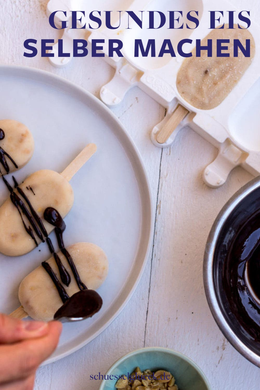 Gesundes Eis selber machen – 5 Rezepte für heiße Sommertage