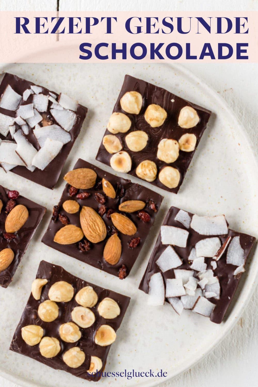 Gesunde Schokolade selber machen – mit nur vier Zutaten!