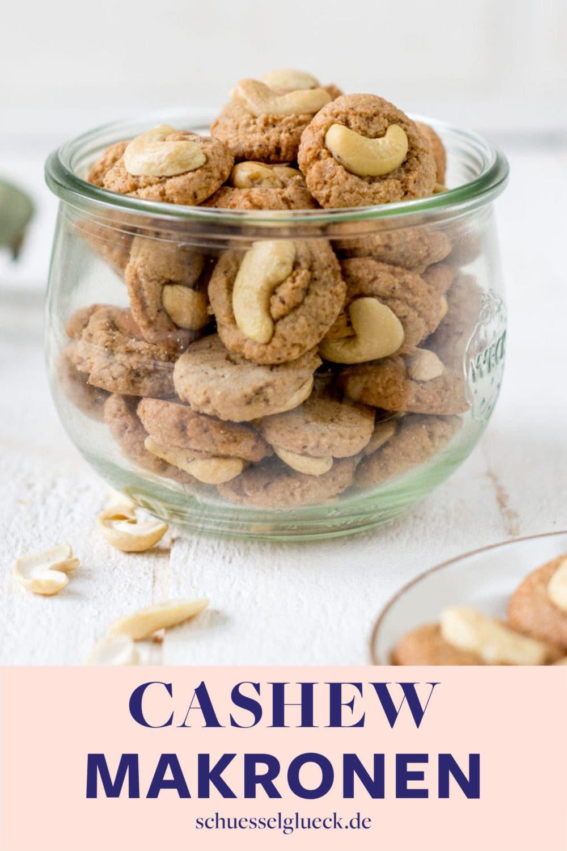 Cashew Küsschen – gesunde Makronen mit Tonkabohne