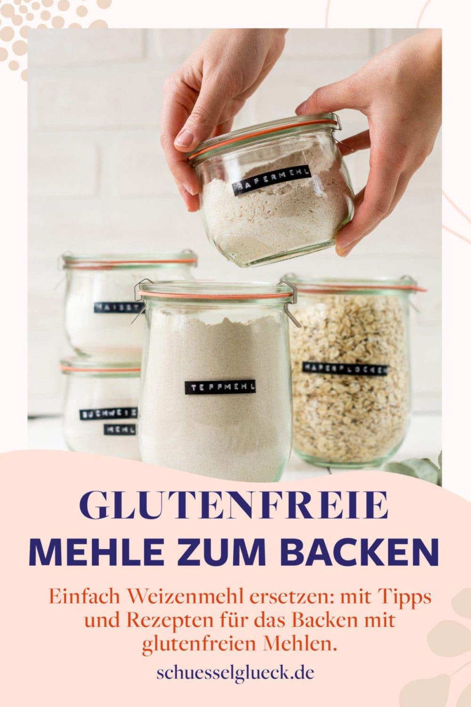 Glutenfrei backen: Mit diesen 7 glutenfreien Mehlen bist du bestens versorgt (inkl. Rezepttipps)