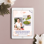 """Cover des Ebooks """"Schnell und einfach gesund genießen"""" von Schüsselglück"""