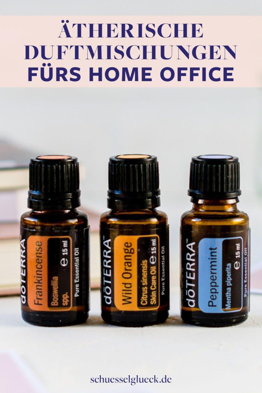 Großartige ätherische Öle-Mischungen fürs Home-Office