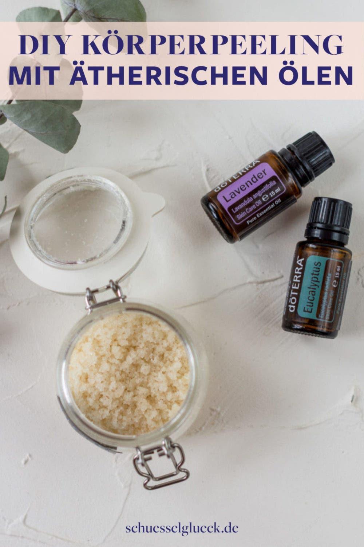 Selfcare im eigenen Badezimmer: Duftendes Körperpeeling mit ätherischen Ölen selber machen