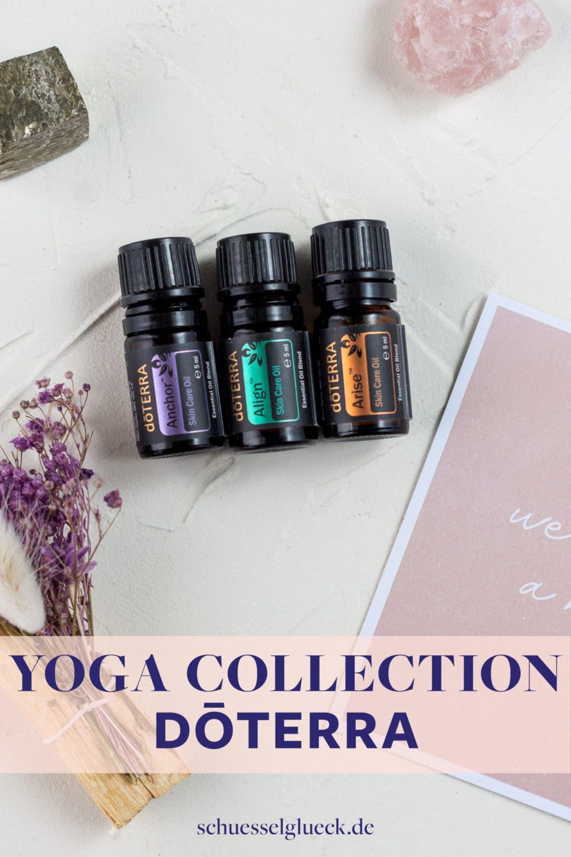 Anchor. Align. Arise. Die drei ätherischen Ölmischungen der Yoga Collection!