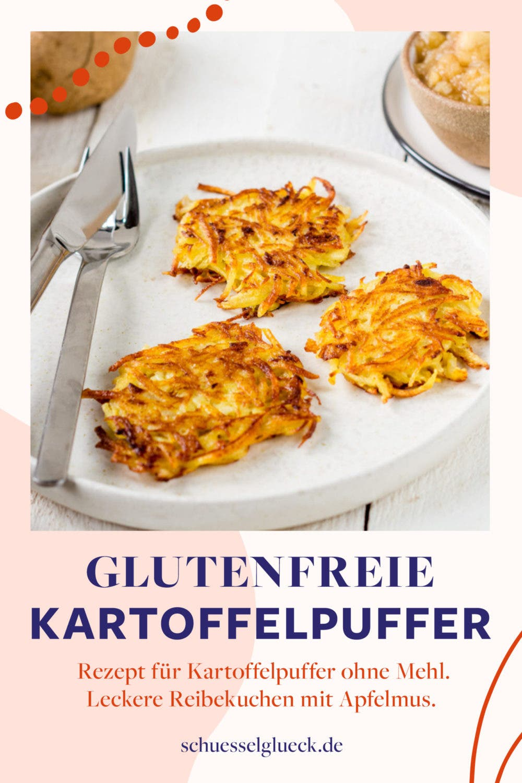 Glutenfreie Kartoffelpuffer selber machen (ohne Mehl) – mit diesem Rezept werden sie perfekt!