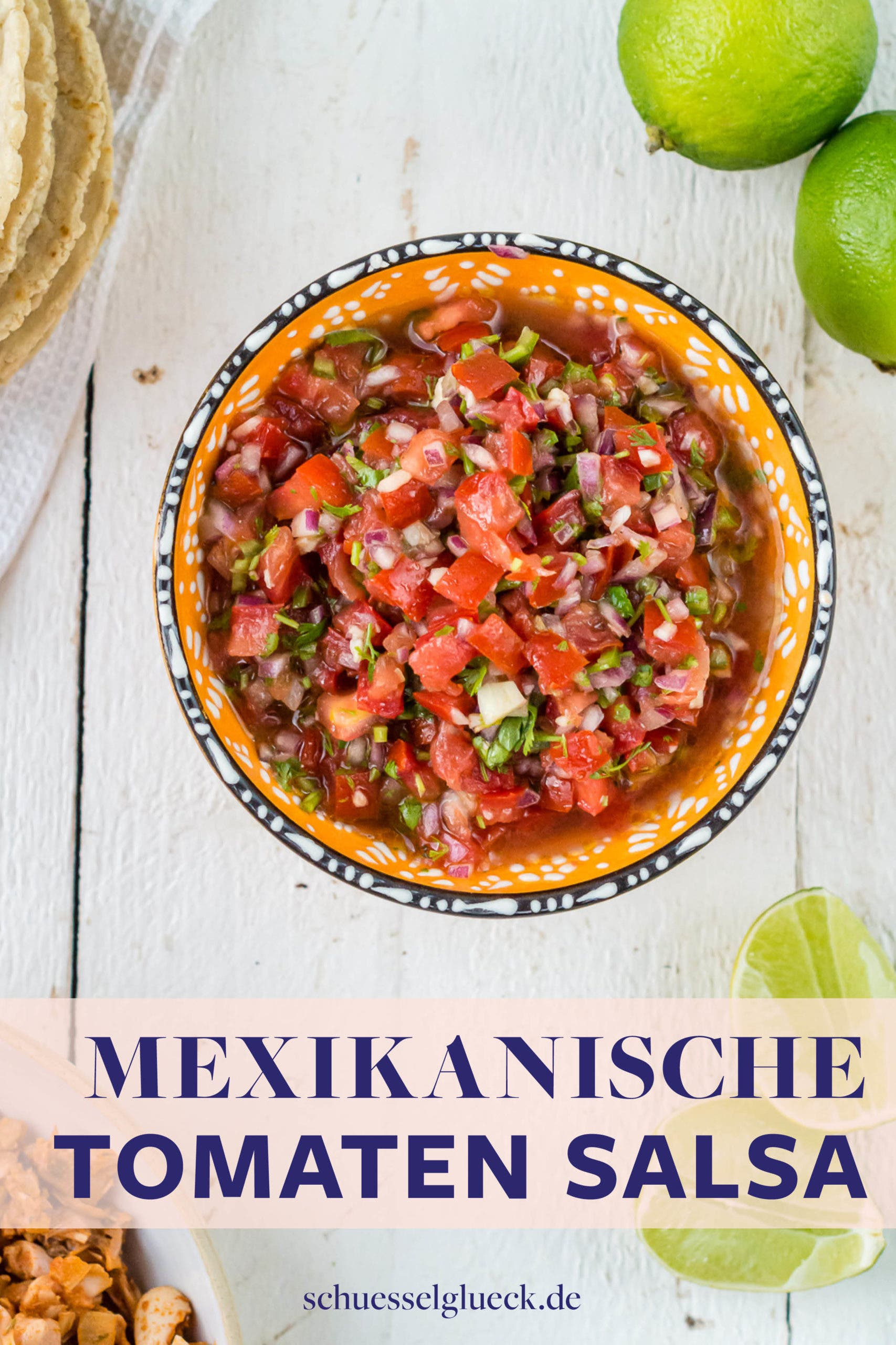 Pico de Gallo – klassisch mexikanische Tomaten Salsa