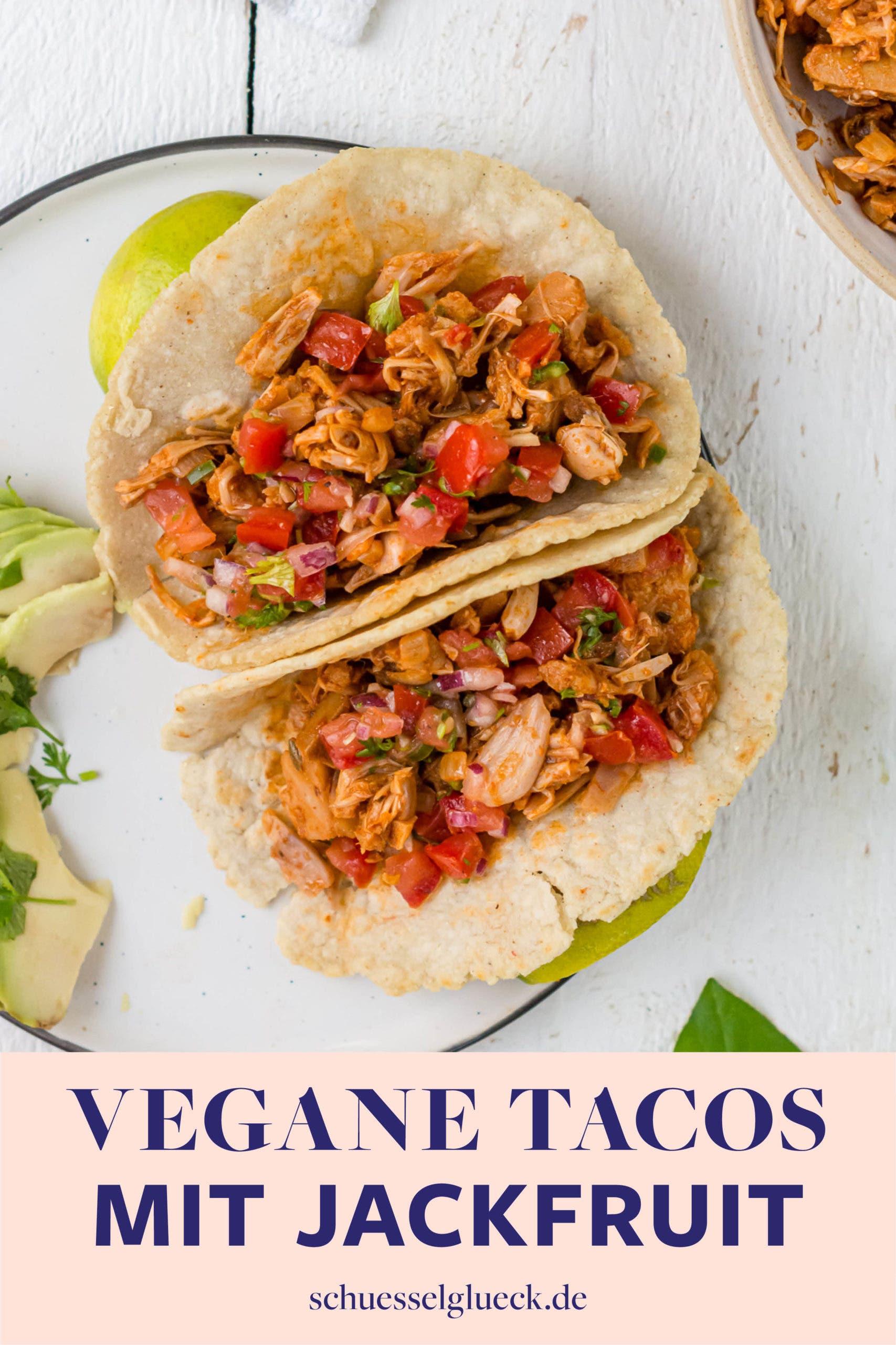 Die besten veganen Tacos mit Jackfruit (ohne Soja)